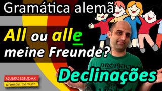 As declinações em alemão